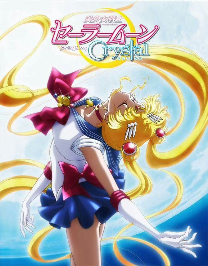 Sailor Moon Crystal Japanese tv release poster