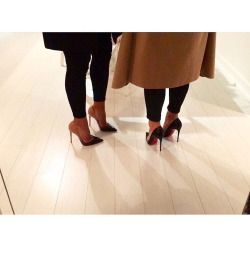 pointed toe stilettos