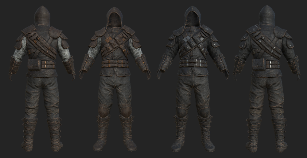 Frankly Hd Thieves Guild Armors At Skyrim Nexus Mods And Community Skyrim Thieves Guild Skyrim Armor Fantasy Armor
