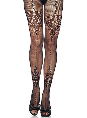 7780c66ba Cathedral Lace Fishnet Pantyhose at PLASTICLAND