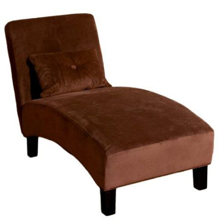 Amazon.com Brisbane Chocolate Brown Microfiber Chaise Lounge Furniture u0026 Decor  sc 1 st  Pinterest : brown microfiber chaise lounge - Sectionals, Sofas & Couches