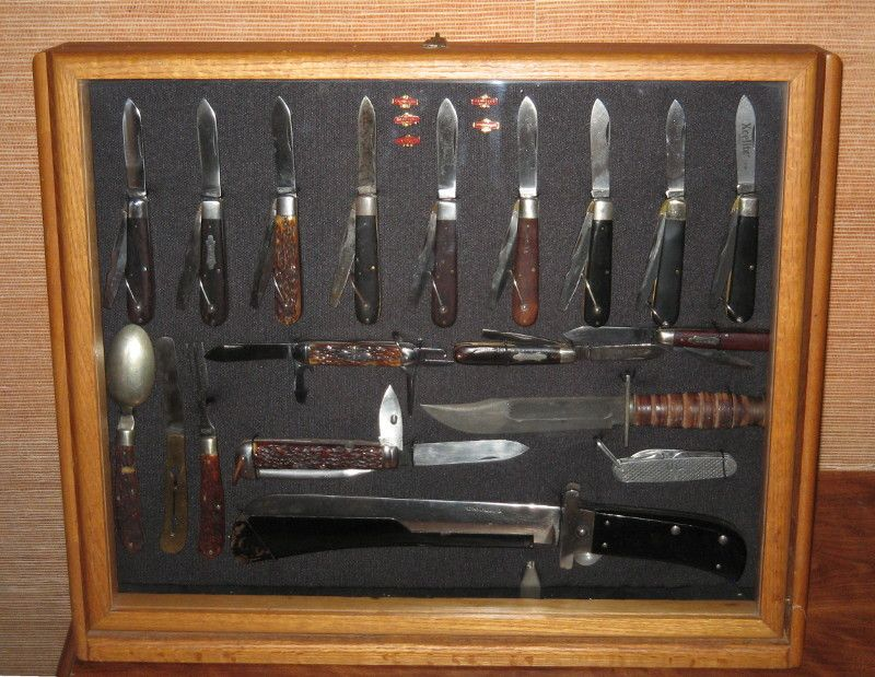 Best 25+ Knife display case ideas on Pinterest | Wall mounted ...