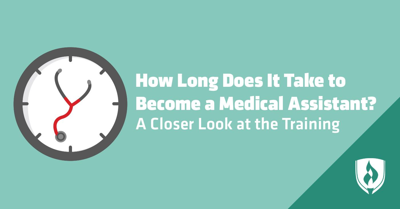 How long does it take to a medical assistant a