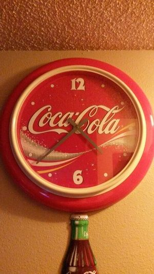"23"" Coca Cola Clock in Gresham, OR (sells for $55)"