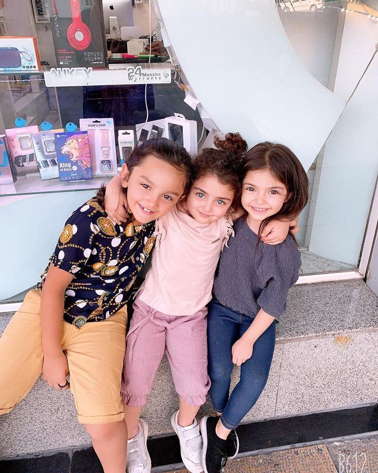 صور عائله اناهيتا هاشم زاده Anahita Hashemzadeh Baby Girl Pictures Kids Adorable Baby Girl Images