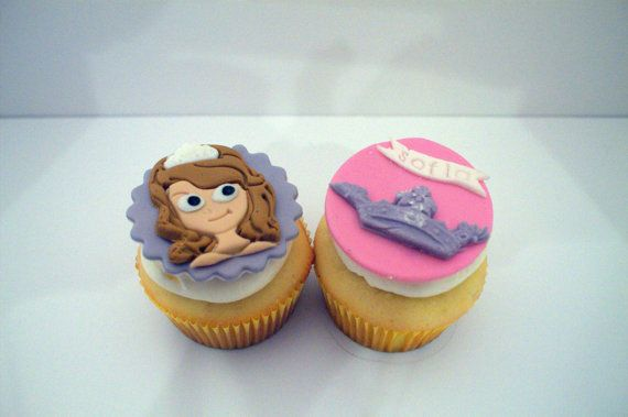 Sofia The First Cupcake Toppers By BigTops On Etsy