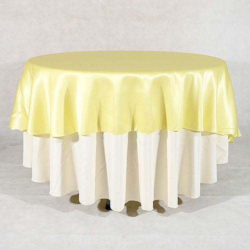 108 Inch Baby Maize 108 Table Cloth Round Tablecloth 90 Inch Round Tablecloth