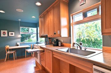An option for accessible kitchens with lower upper ...