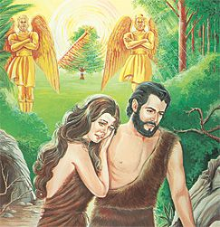 Why Adam And Eve Lost Paradise Bible Story Adan Y Eva Historia De La Biblia Biblia Imagen