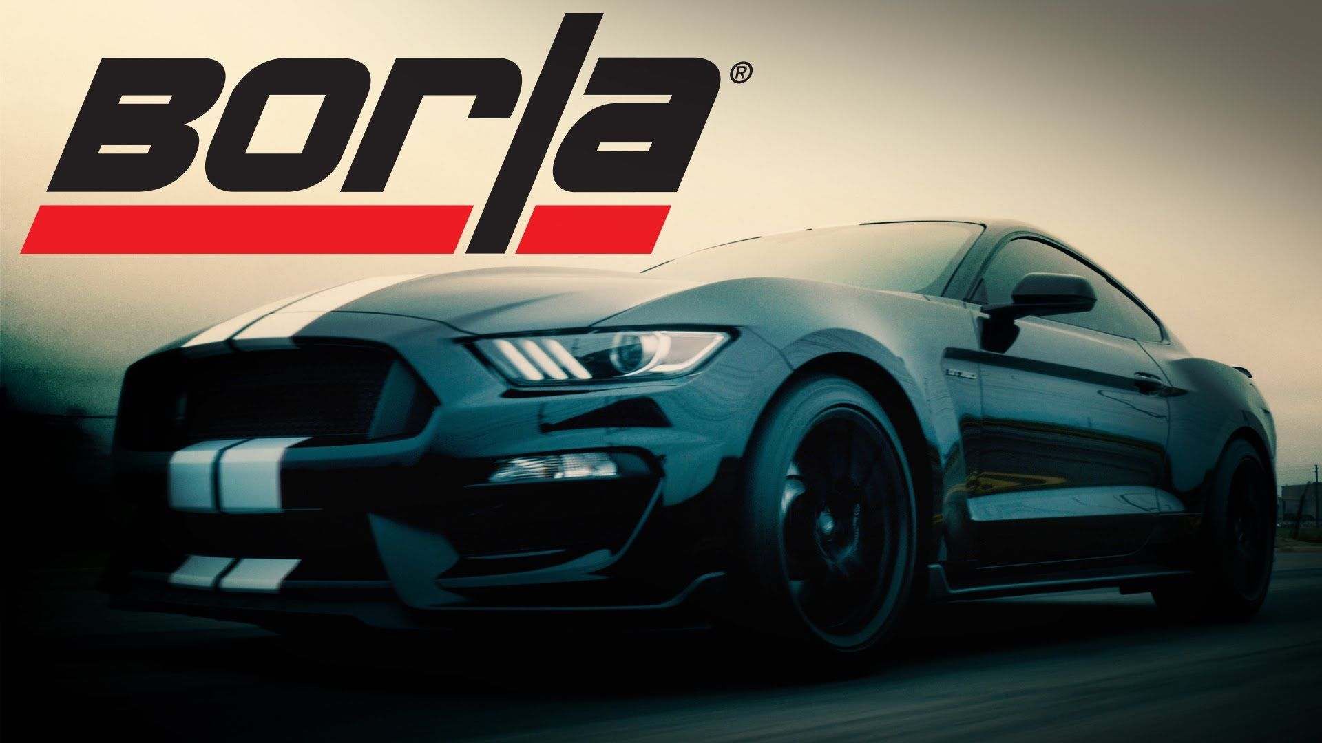 Borla exhaust for 2015 16 ford mustang shelby gt350