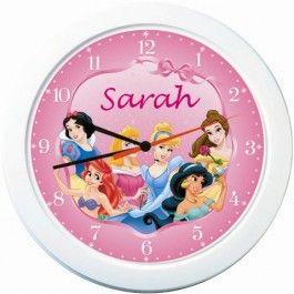 Disney Princess Personalised Clock Buy Online With