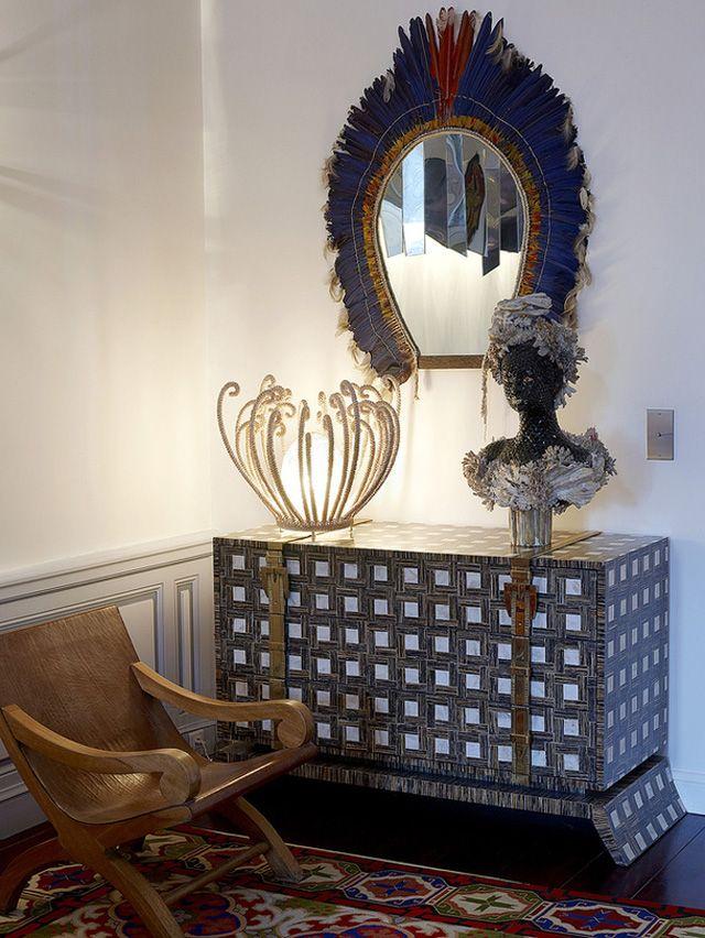 {designer houses} Christian Louboutin's Apartment in Paris - TheFashioniStyle
