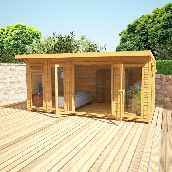 avon 5m x 3m insulated garden room httpwwwsheds