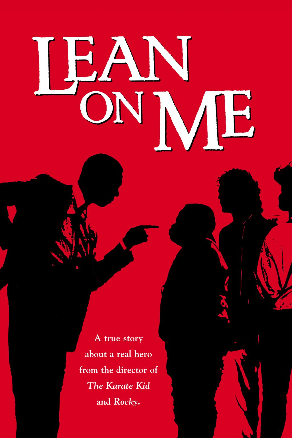 Lean On Me (1989)   Pinterest   Movie, 80s movies and Movie tv