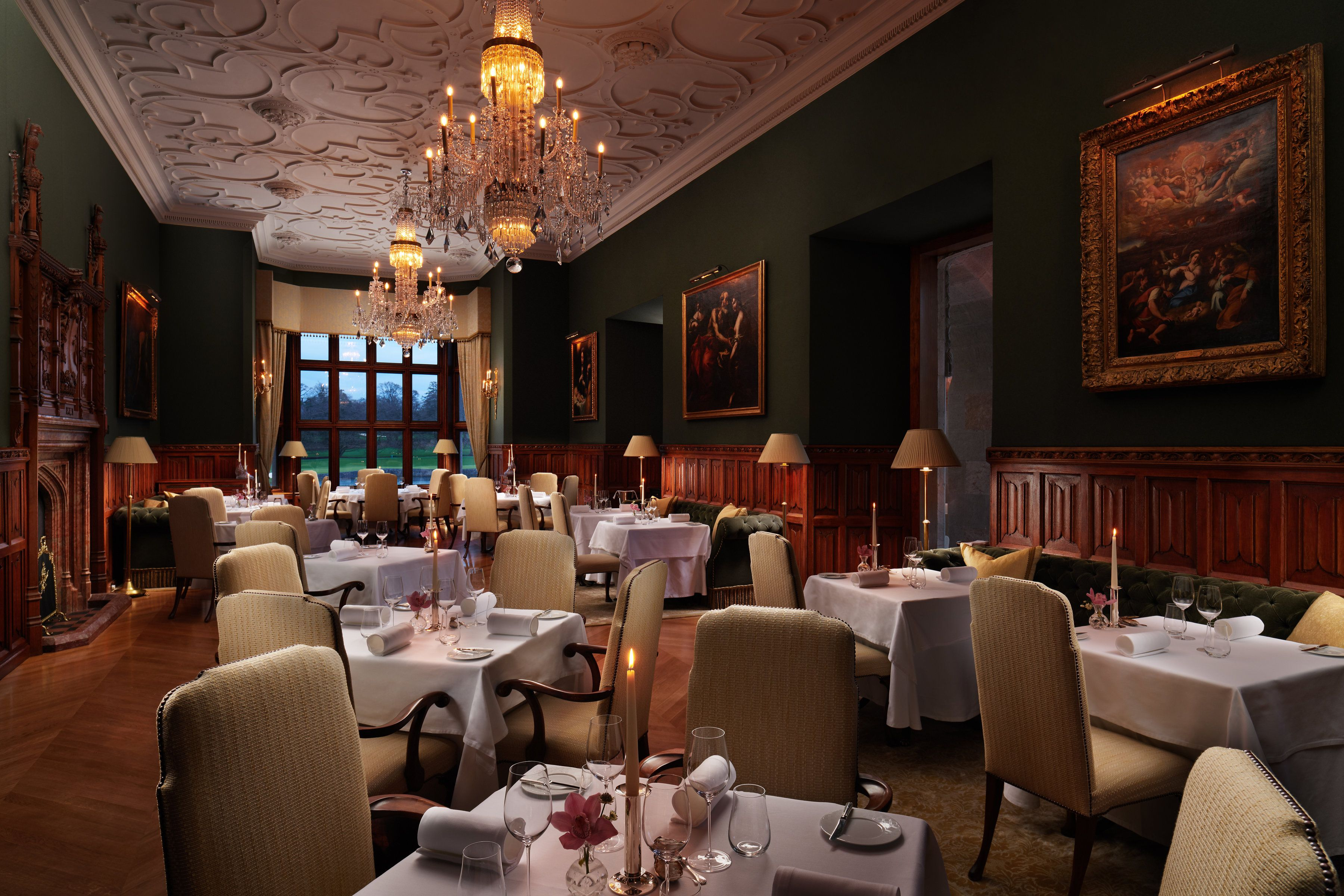 The Oak Room Adare Manor Country House Hotels Public Hotel