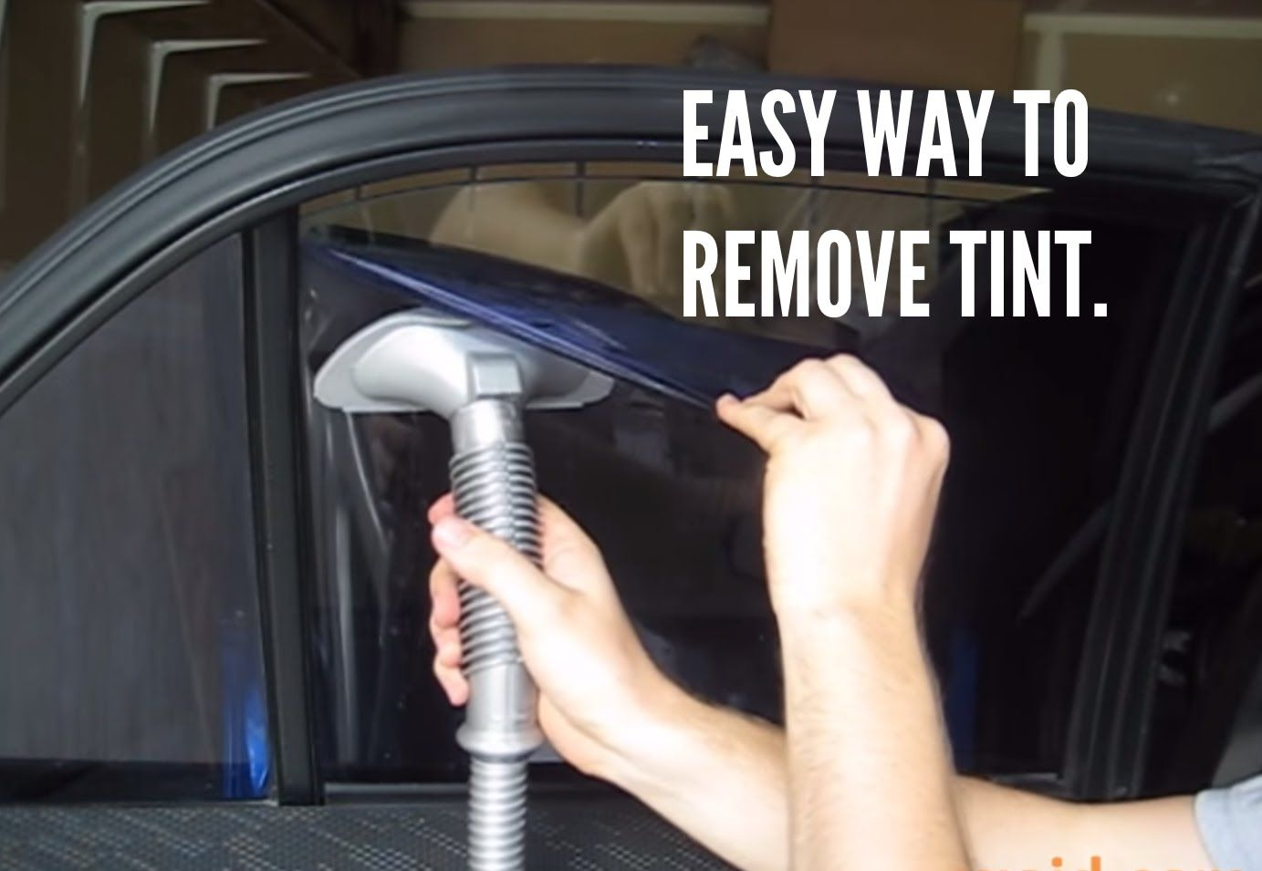 Easy way to remove window tint howto victoryautomn http