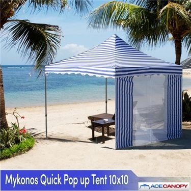 Mykonos Quick Pop Up Tents / Canopy & Mykonos Quick Pop Up Tents / Canopy 10x10 | For the Home ...