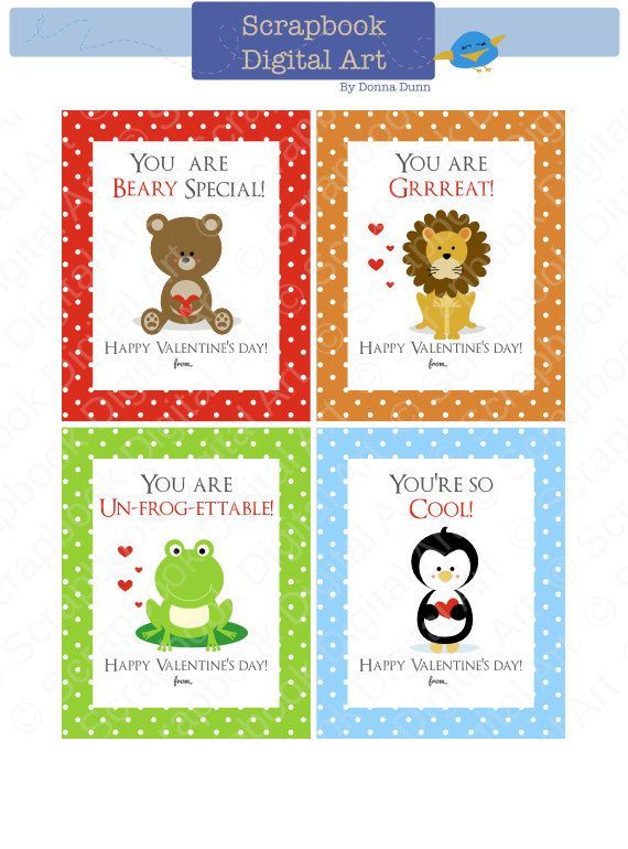 photo relating to Printable Valentines for Kids identified as Printable Valentine playing cards for little ones. Go through valentine, Frog