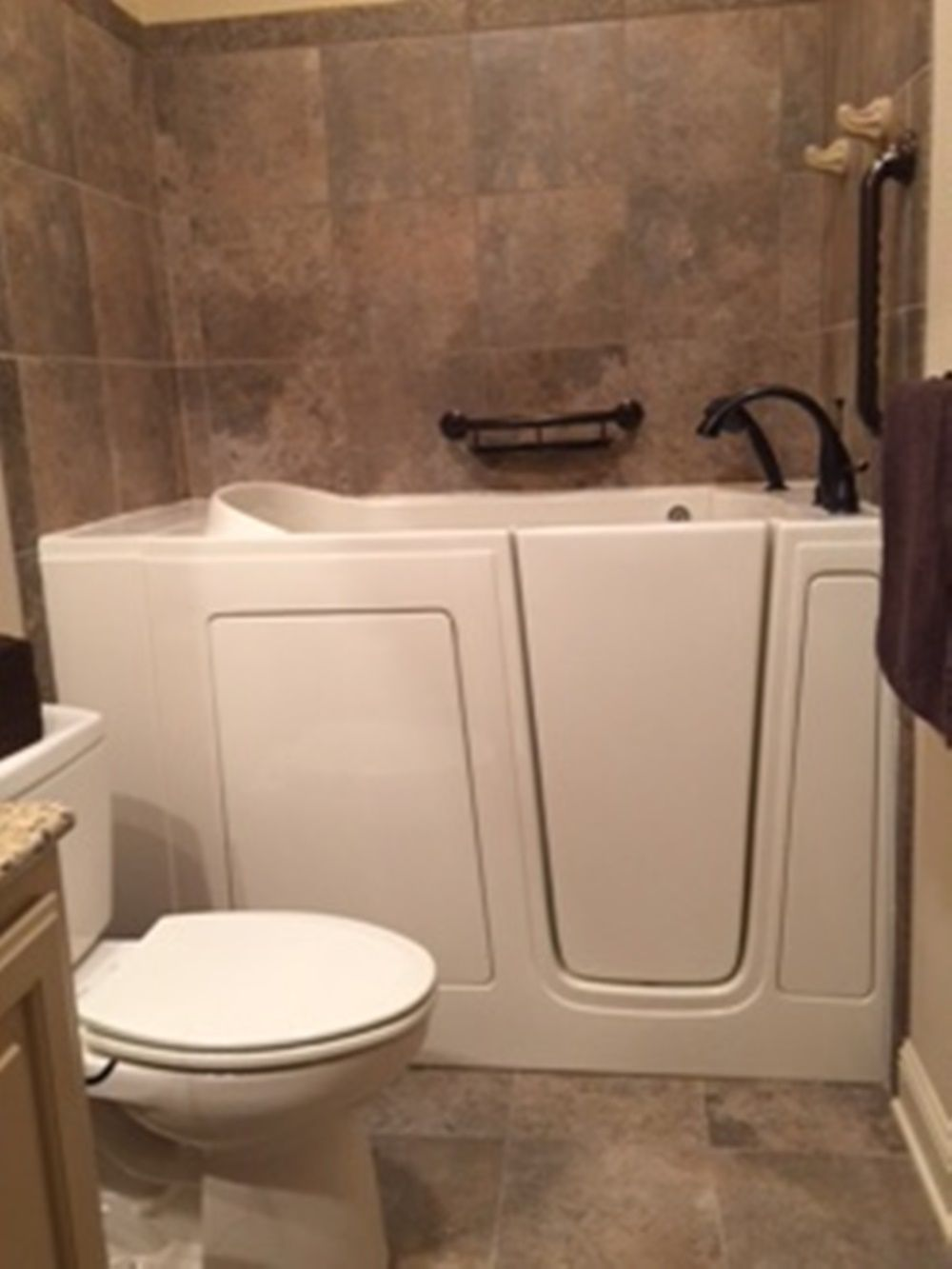 We installed this walk in tub at a Miami, FL home in just 1 day. The ...