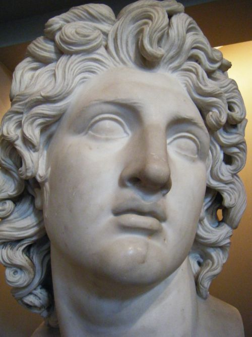 bust of alexander the great after the death of alexander the great his large empire was left. Black Bedroom Furniture Sets. Home Design Ideas