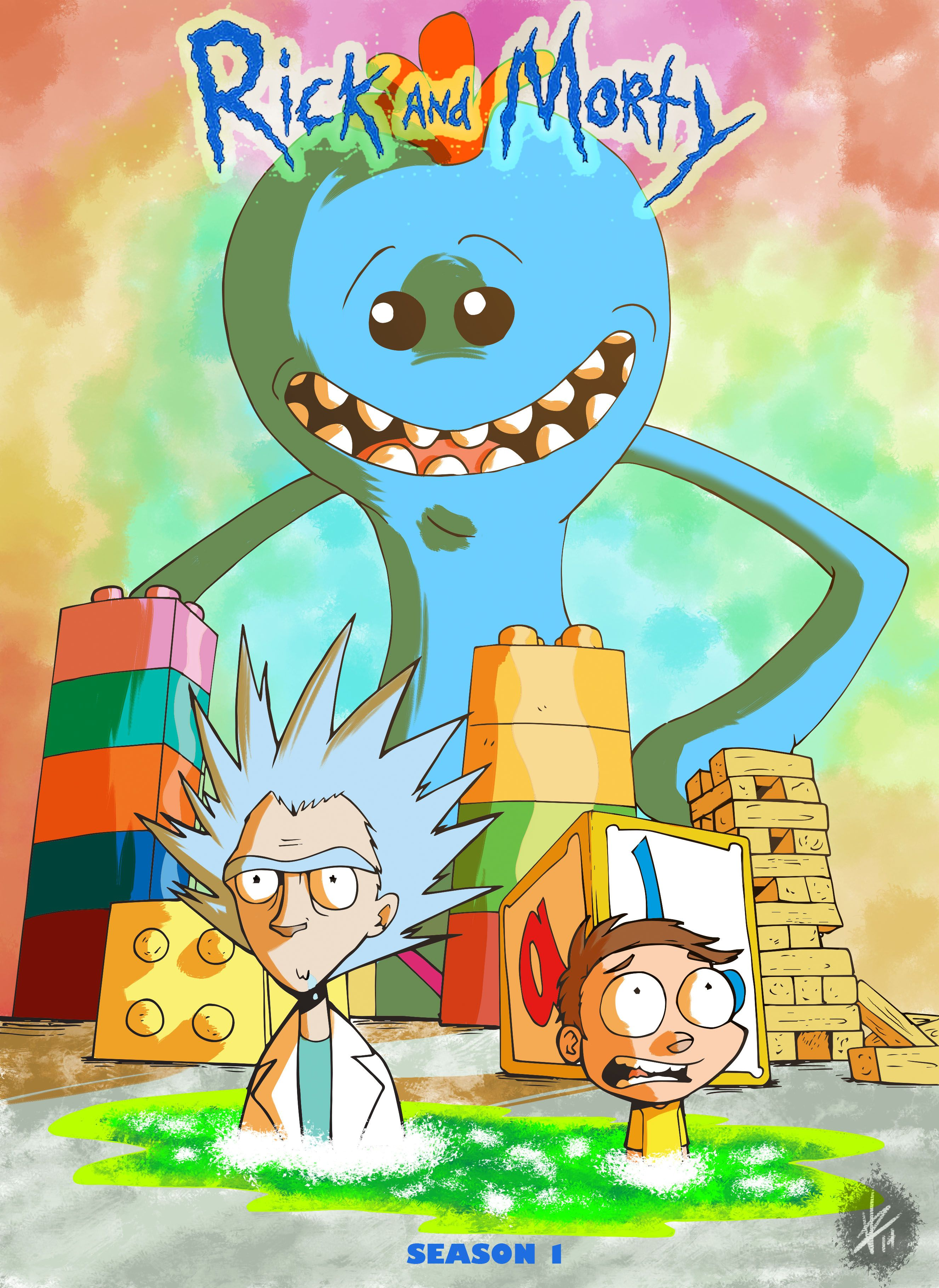 Rick And Morty Fan Art Google Search Rick And Morty Animacao