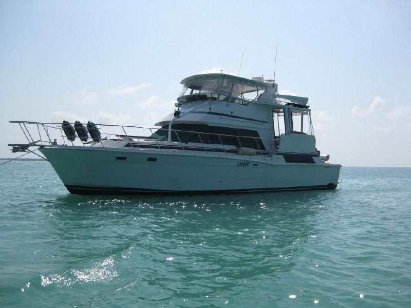 1990 Camargue 58' | GO: Powerboats | Boats for sale, Boat, Power boats