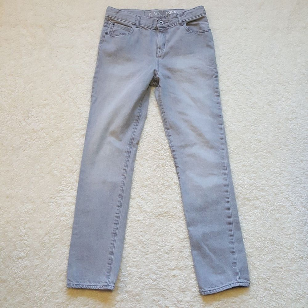 fd6167a21a77a The Childrens Place Skinny Jeans Boy s Size 14 Gray Slim Pre-owned   TheChildrensPlace  SlimSkinny  boys  kids  fall  winter  jeans