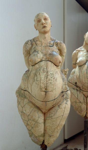 Escultura de javier marín en barro s clay