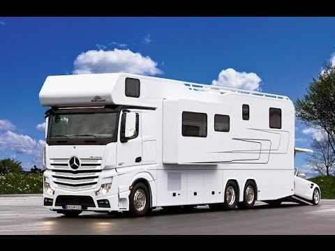 Motorhome with mercedes underneath with excellent photo in for Mercedes benz luxury rv