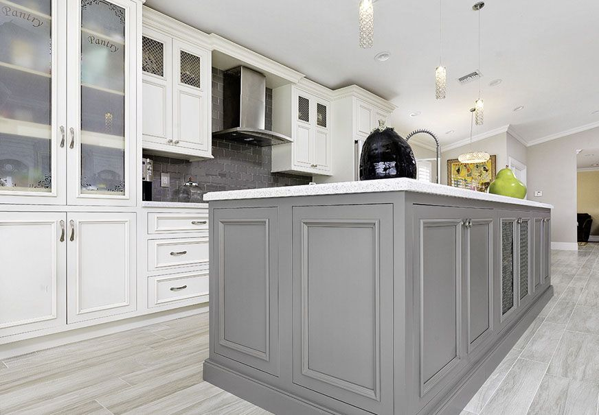 View 2 of flush inset shiloh cabinets | Shiloh cabinets ...