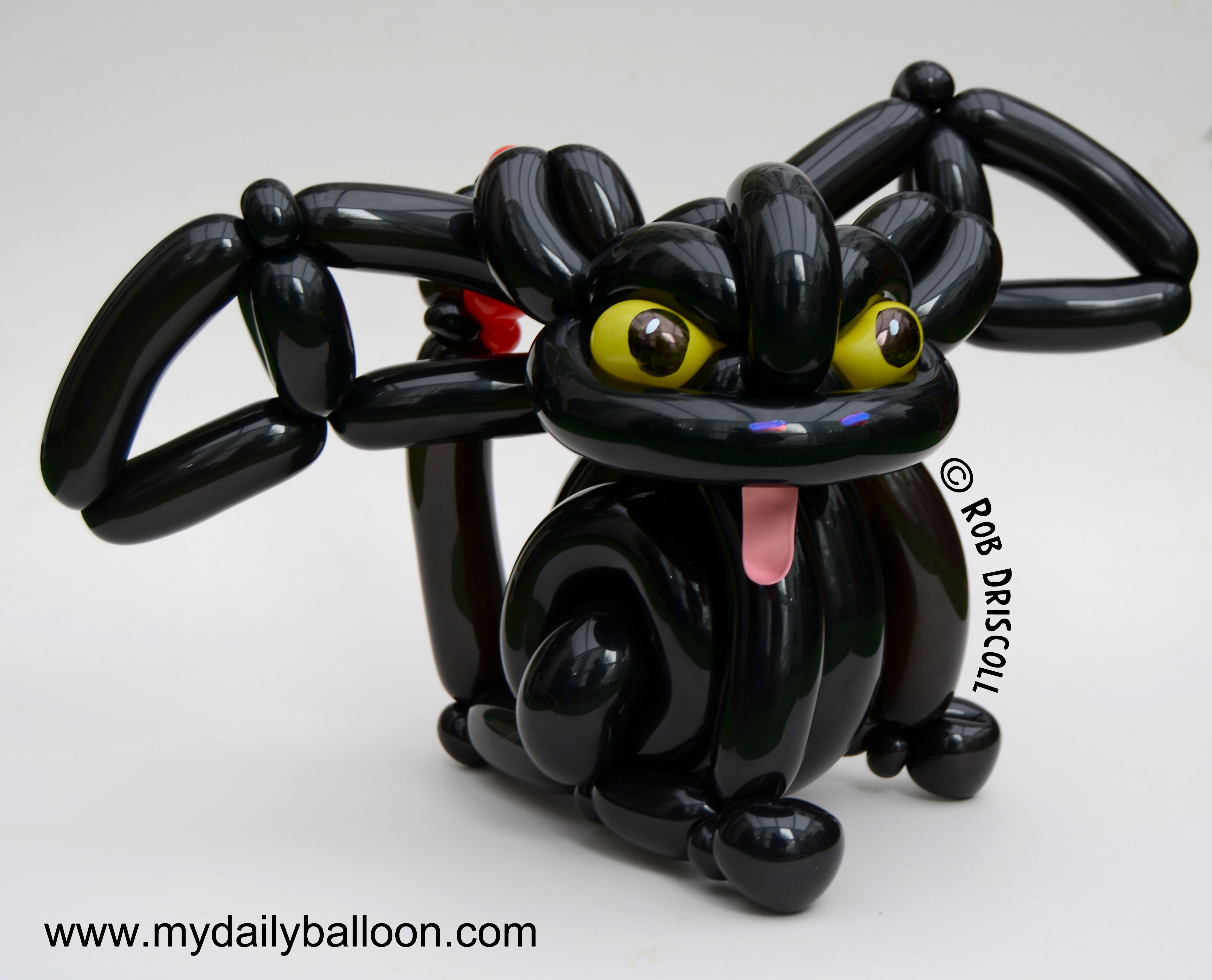 Toothless the Dragon Balloon Twisting Dragons and dinosaurs