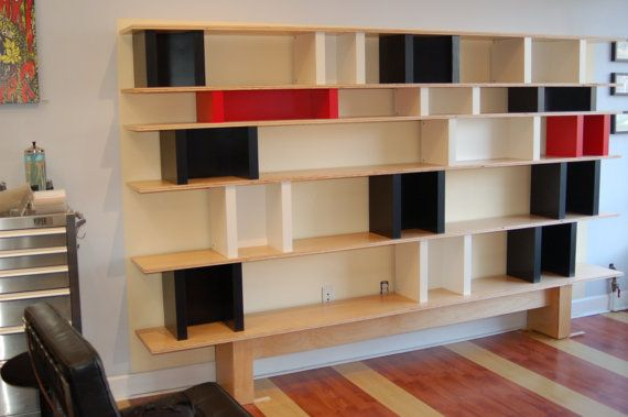 Charlotte  Book/Display Shelves by ecomoderndesign on Etsy, $3200.00