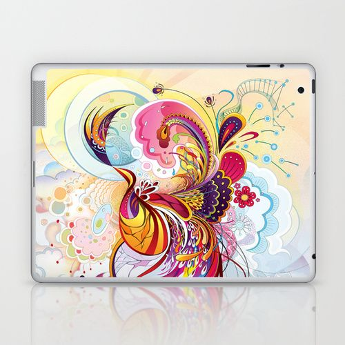 Phoenix Laptop & iPad Skin by Nick La | Society6