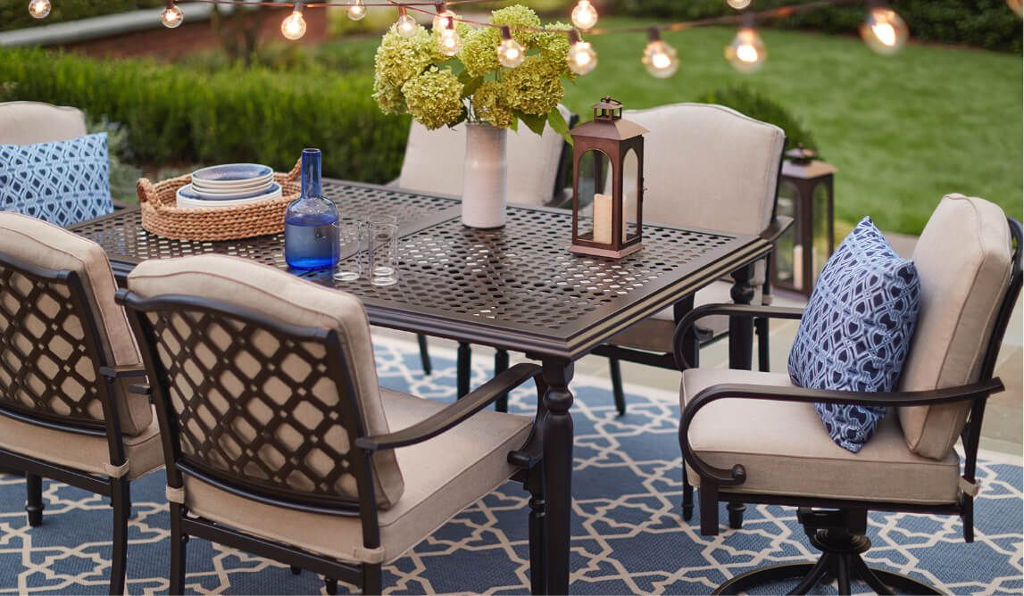 outdoor dinette sets patio dining sets