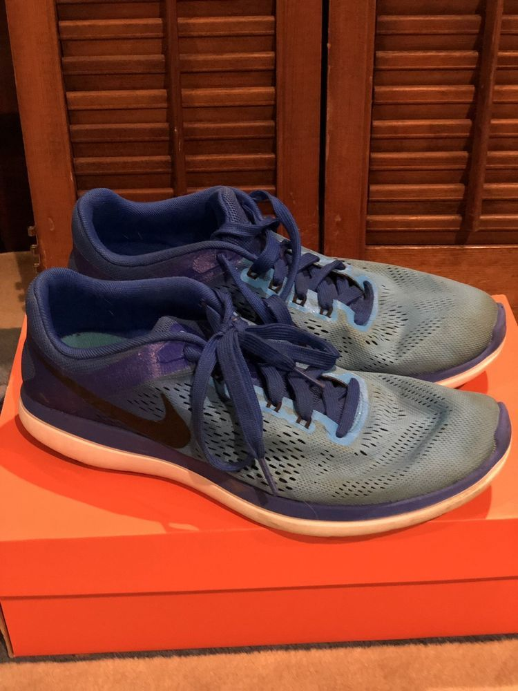 463574790a631 NEW Nike Flex 2016 Rn Men's Running Shoes Sneakers 830369 401 Blue ...