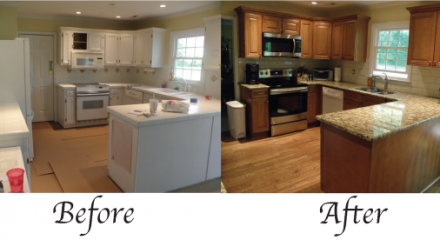 Remodel Kitchen Before And After Extraordinary Kitchen Remodel Before And After  Before & After  Alia Kitchen Review