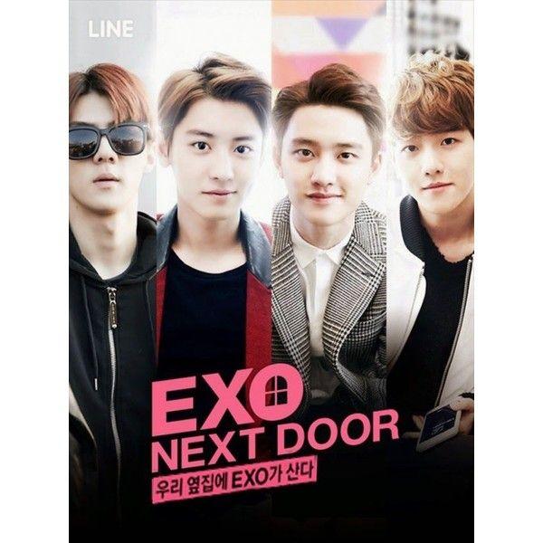 Znalezione obrazy dla zapytania exo next door poster