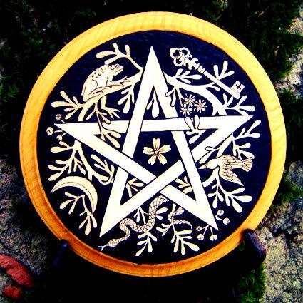 Wooden Pentacle
