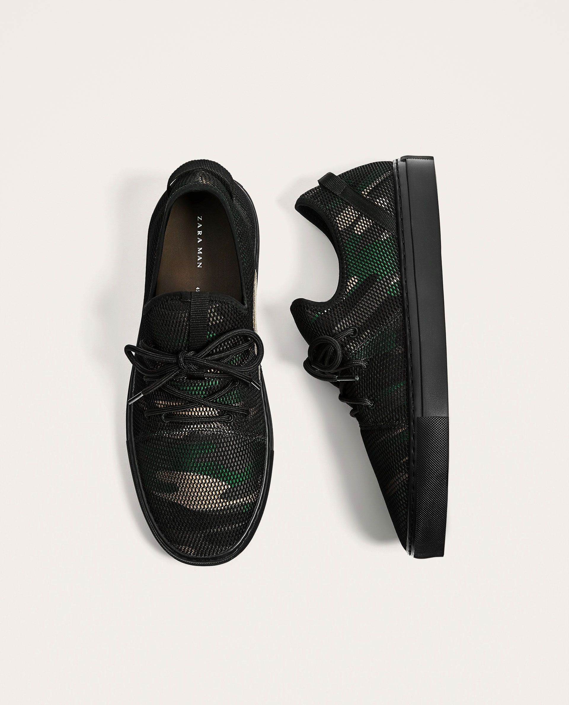 fab1397e521 CAMOUFLAGE MESH SNEAKERS