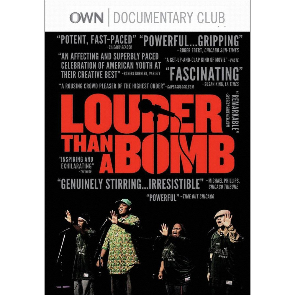Louder Than A Bomb Dvd Movies Documentaries Slam Poetry Making Words
