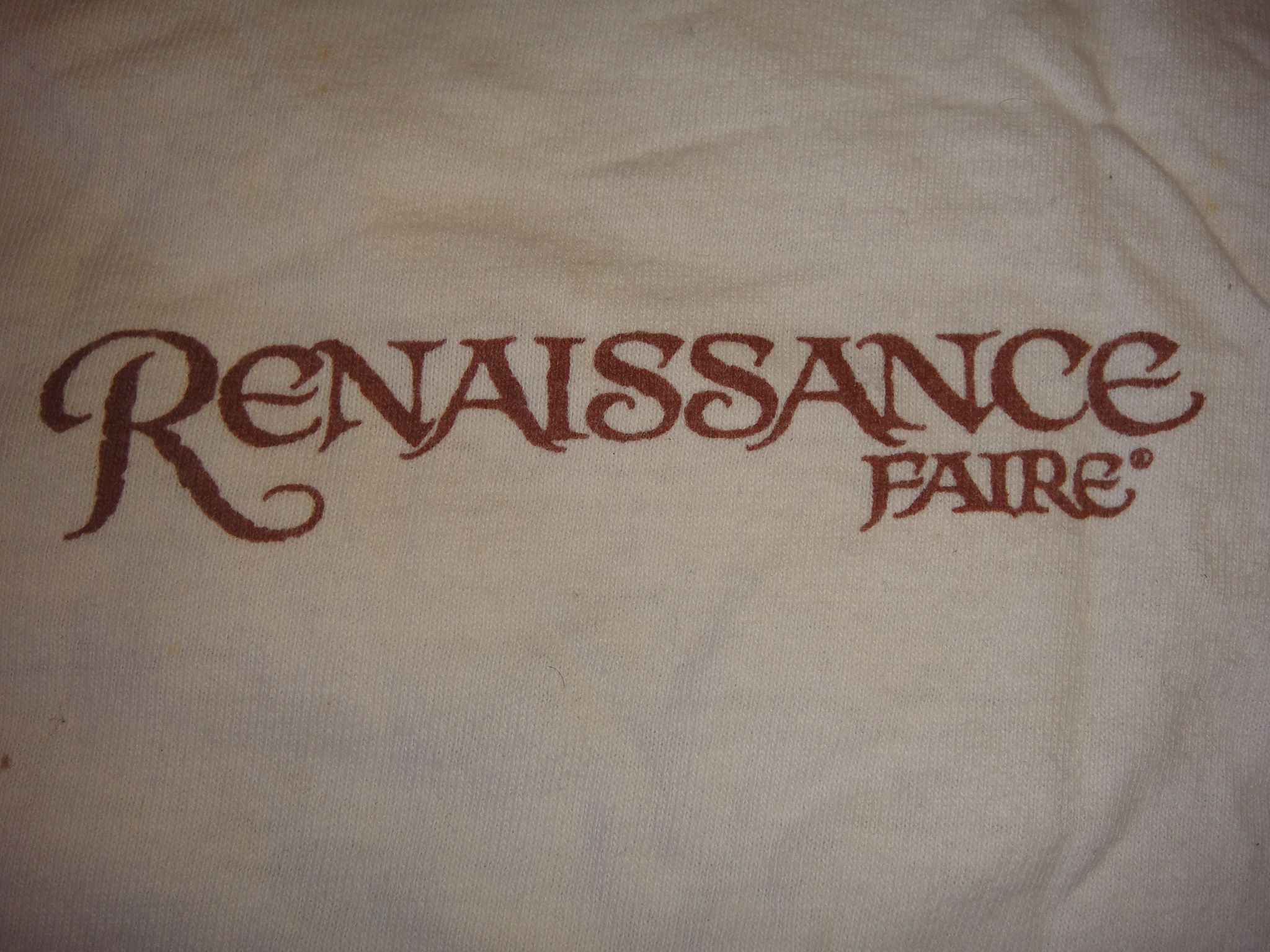 I went to the Ren Faire a couple of times. There's nothing like walking around eating a turkey leg and drinking mead.