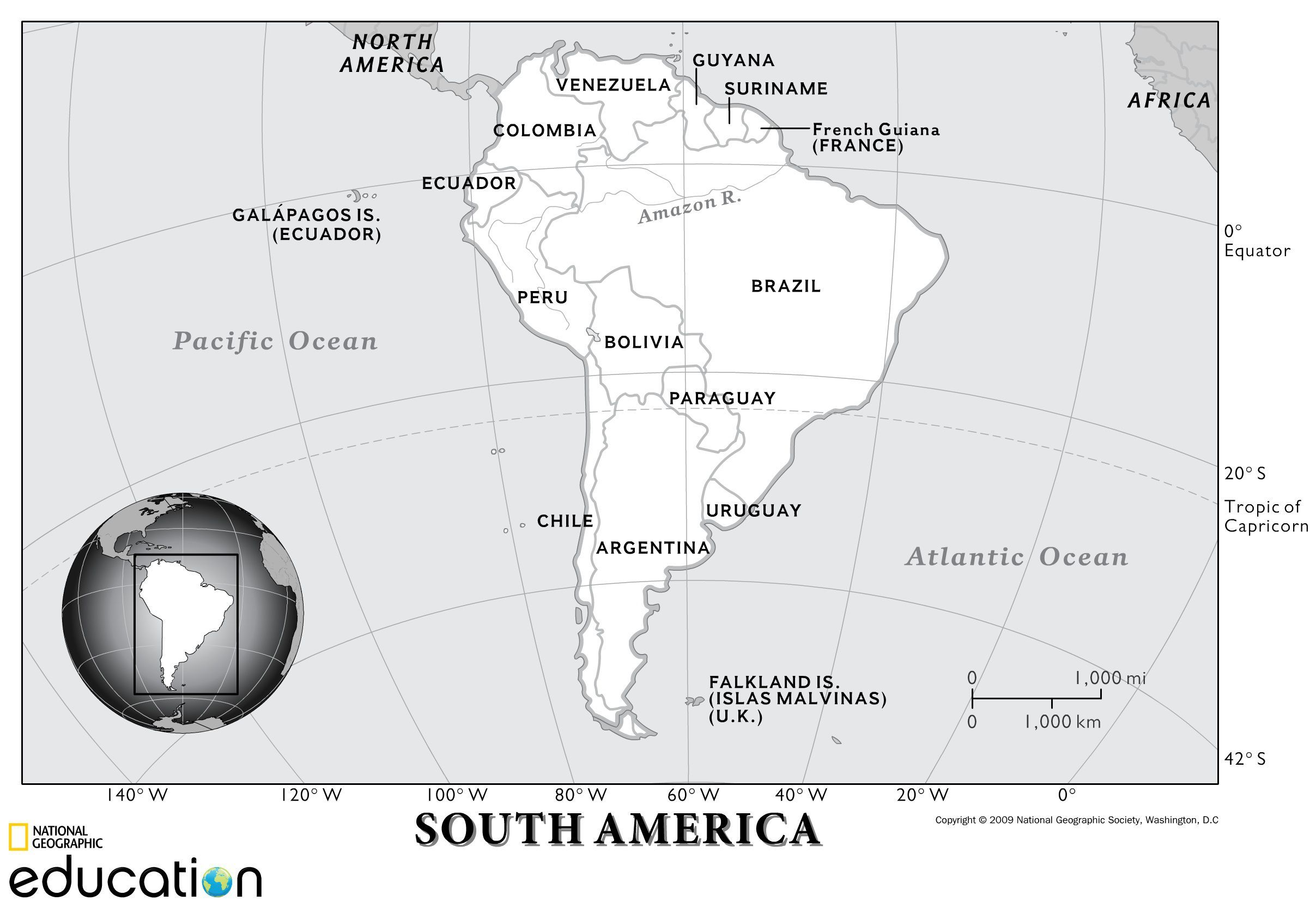 South America Resources Physical Geography South America