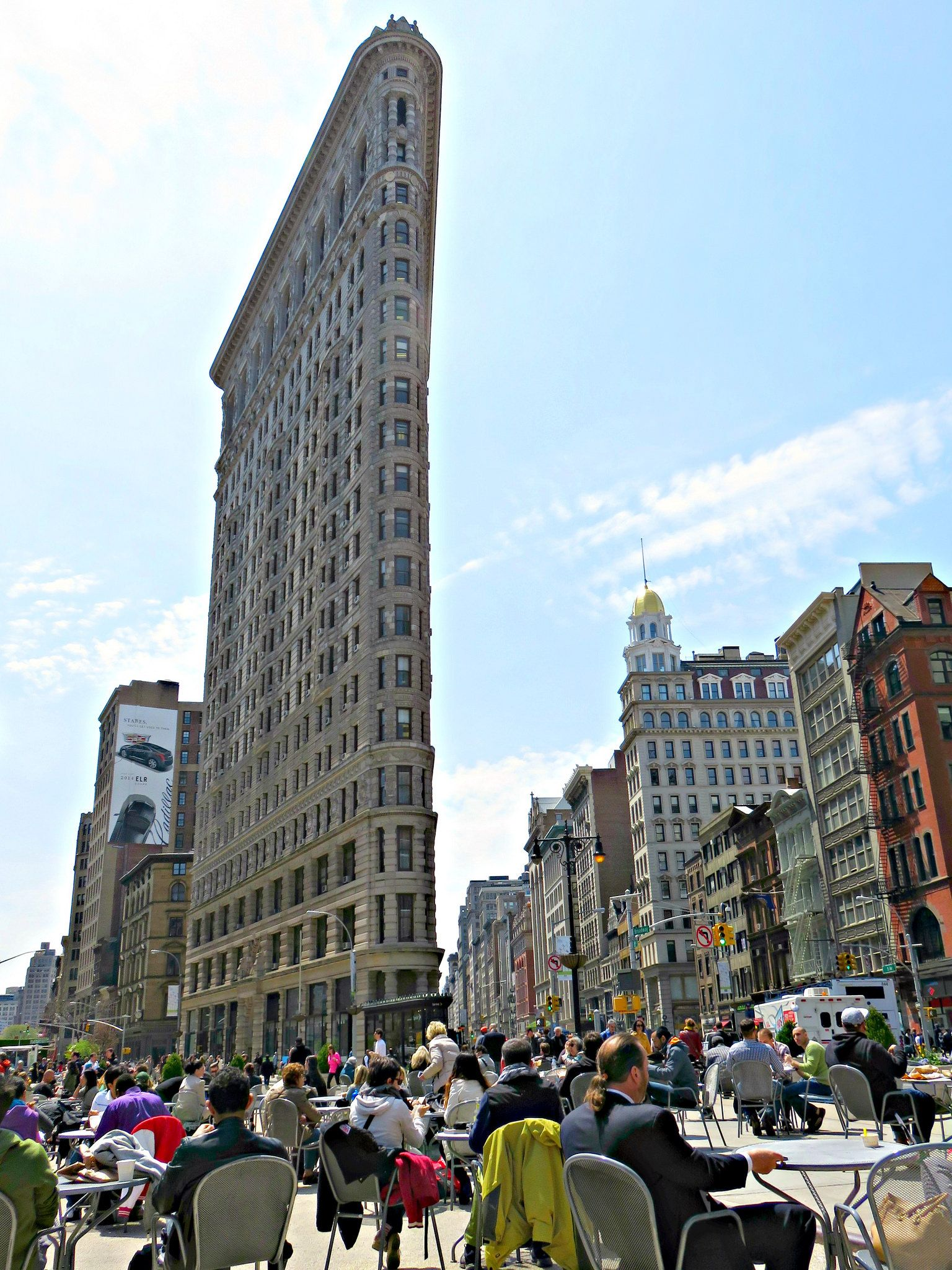 Flatiron Building Viewed From Madison Square Park 175 Fifth Avenue New York City Flatiron Building Madison Square New York City
