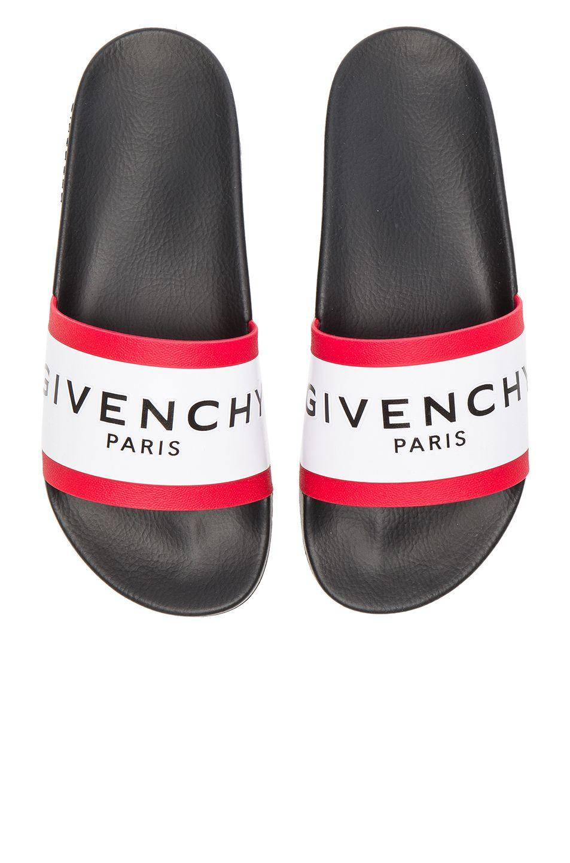 59f65b9c39ad Givenchy Slide Sandals in Black