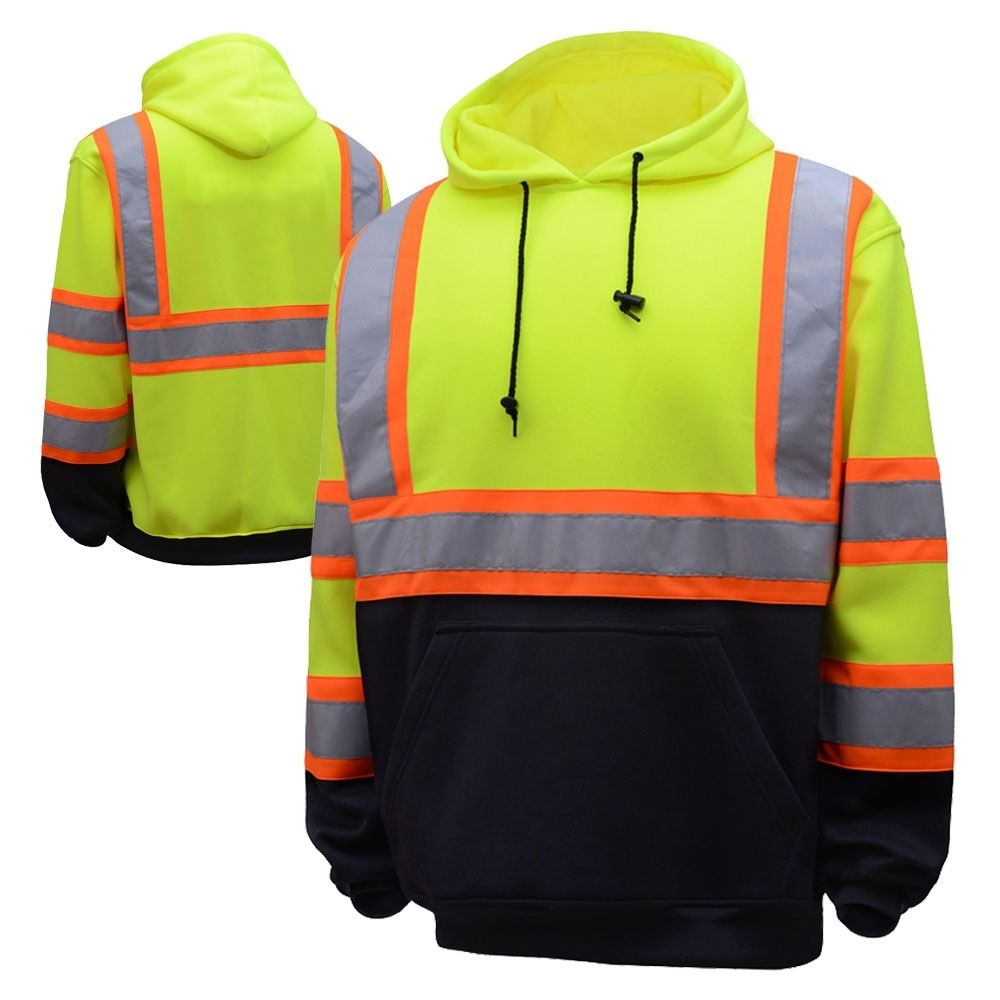 Gss safety 7005 class 3 hivis contrast black bottom