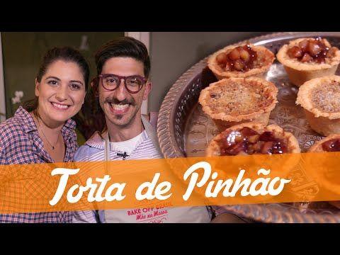 Carol Fiorentino Ensina A Fazer A Torta De Pinhao Do Bake Off