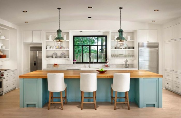 ▷ 1001 + ideas de decoración de cocina americana | diy houses