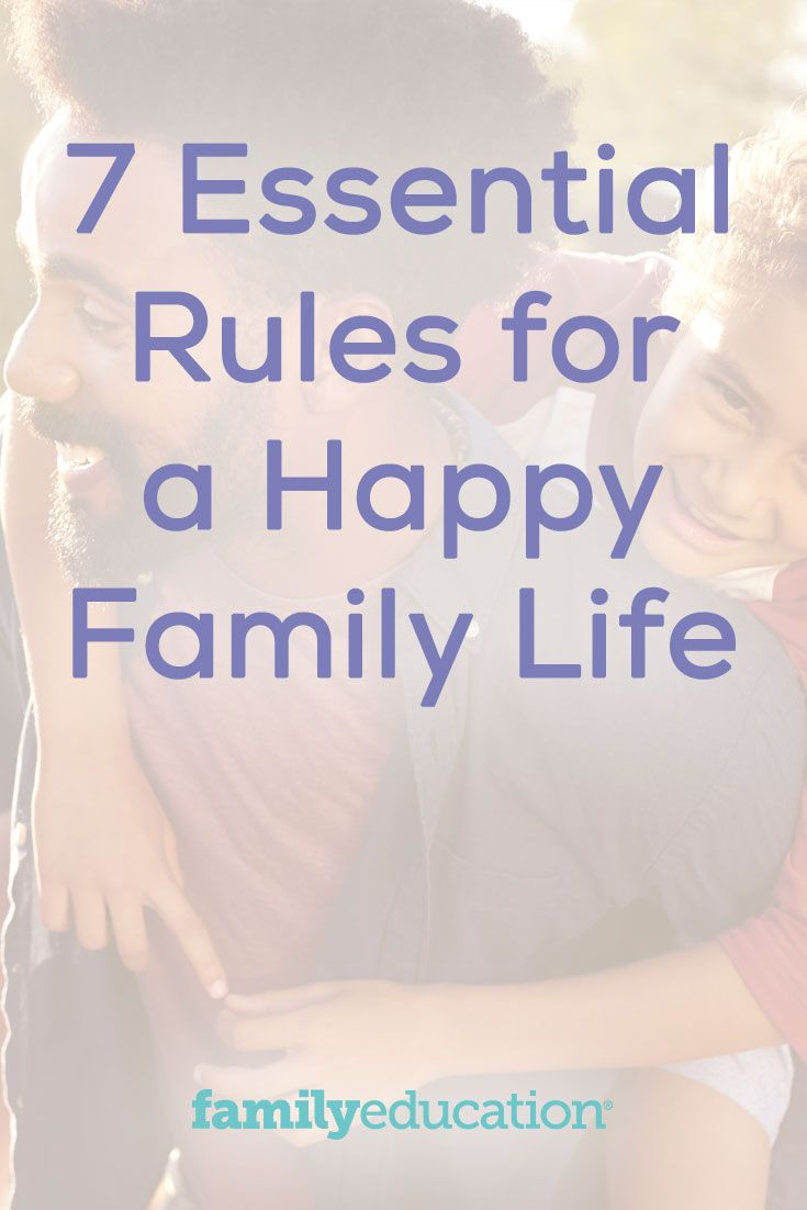 RULES OF FAMILY LIFE 23