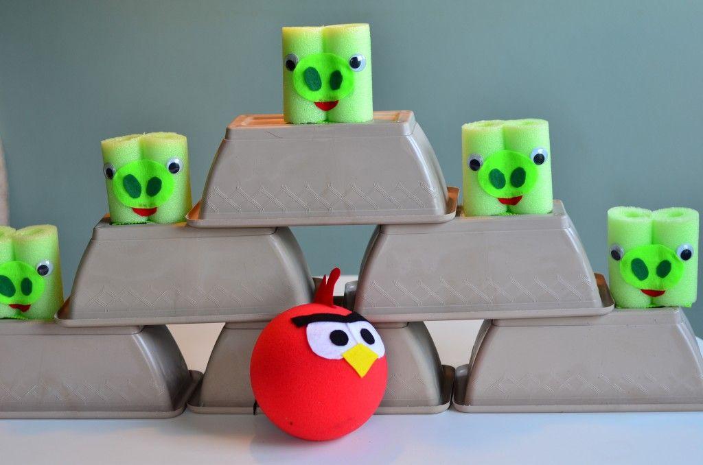 angry birds DIY game