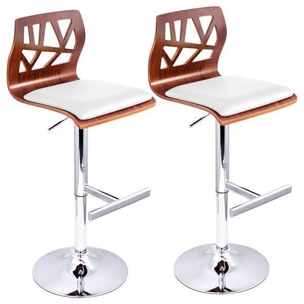 Jude Kitchen Bar Stool (Set of 2) White | stools ...